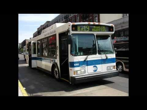 MTA NYCT Bus: Orion VII HEV #6433 recording