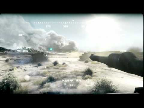 Battlefield 3 Thunder Run gameplay video