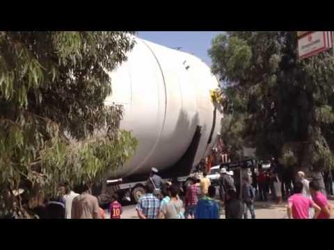 La grande cargaison se deplace vers Mauritanie