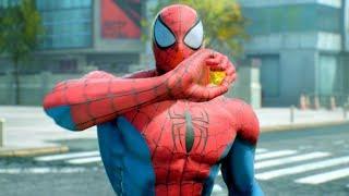 Marvel vs Capcom Infinite All Spider-Man Cut Scenes 4k Ultra HD 2160p