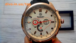 мужские часы Mercedes Benz Tag Heuer white