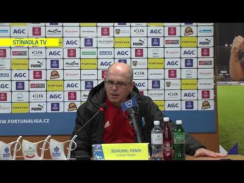 Tisková konference hostujícího trenéra po utkání Teplice - Ostrava (24.11.2019)
