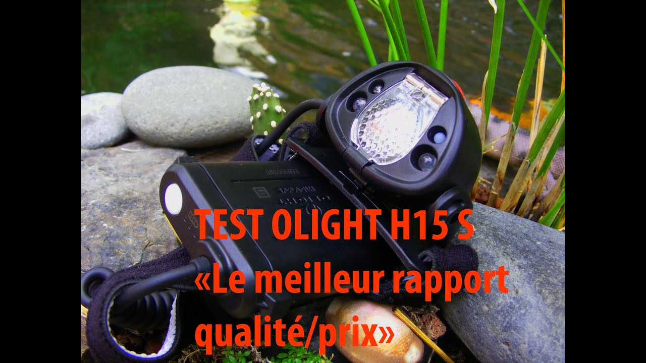 test olight h15s le meilleur rapport qualit prix du march youtube. Black Bedroom Furniture Sets. Home Design Ideas