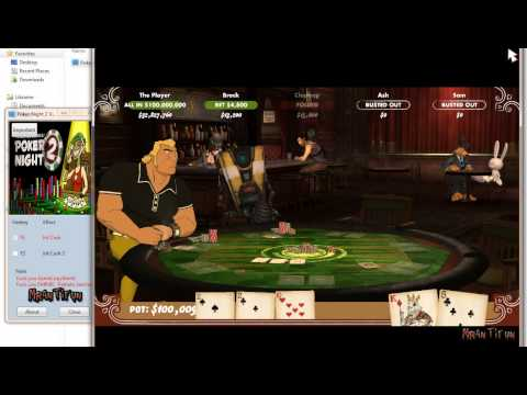 Poker Night 2 V1.0 Trainer +1