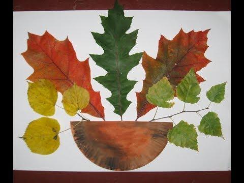Ежик из сухих листьев 100