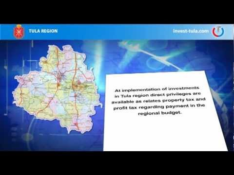 Tula Region - One Of The Centres Of Investment Activity In Russia.