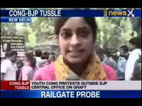 News X : Congress' Tit-for-tat protest in Delhi