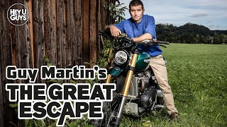 Guy Martin Interview - Guy Martin's Great Escape