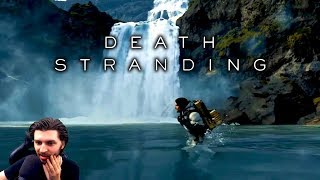 Death Stranding Gameplay Reveal Trailer Reaction! - E3 2018 Sony Press Conference