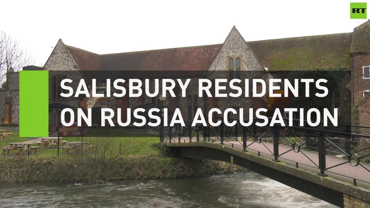 Salisbury residents react to May's Russia accusation