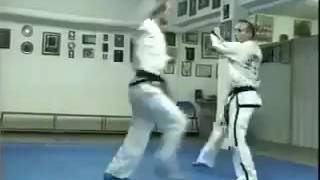 Master Vasilis Alexandris 8th Degree ITF Self Defence Against a Knife Attack