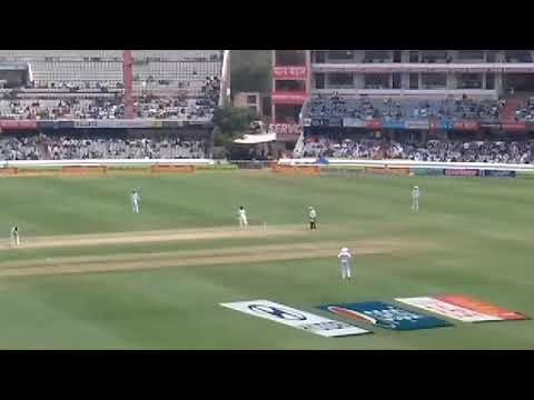 India Vs West Indies test match day 2 fan visit // VIRAT KOHLI // INDIAN CRICKET TEAM 2018