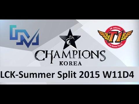 LCK Summer 2015 Week 11 Day 4 - SK Telecom T1 vs Longzhu IM | Game 1 - SKT vs IM W11D4