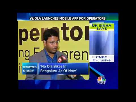 Ola Launches Mobile App For Operators