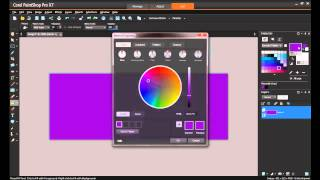 How to use Color Harmonies in PaintShop Pro X7