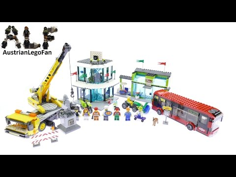 Lego City 60026 Town Square - Lego Speed Build Review