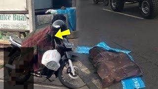 Viral di Medsos Mayat Wanita Jatuh dari Motor di Denpasar, Begini Faktanya