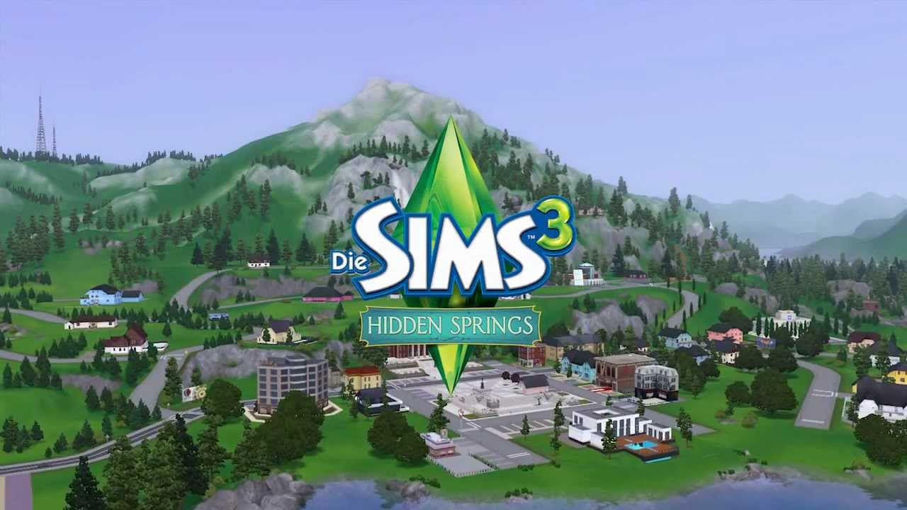 The sims 3 hidden springs the sims 3 magiczne rda 201