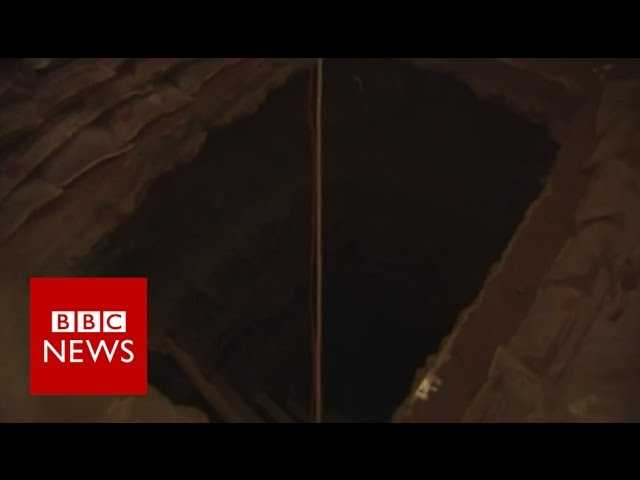 Inside one of Islamic State's tunnels - BBC News