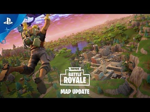 Fortnite – Battle Royale Map Update   PS4
