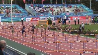 IAAF World Junior Championships Moncton 2010 - 100m hurdles women heat 1