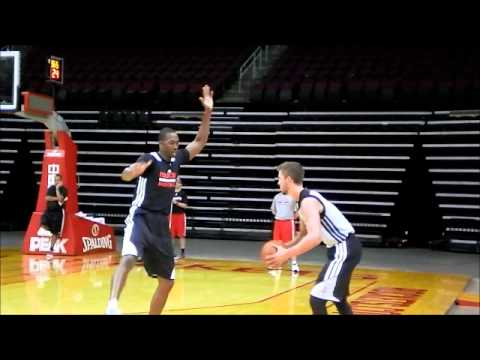 Houston Rockets Scrimmage - Additional Footage - Day 6 2013-14 Training Camp