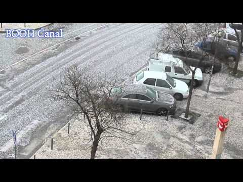 Tempestade Neve/Granizo in Lisboa#News 004Parte 1,Huge Blizzard Storm in Lisbon