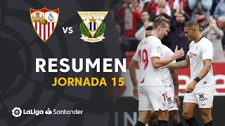 Resumen de Sevilla FC vs CD Leganés (1-0)