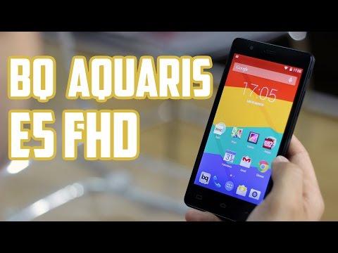 Bq Aquaris E5 FHD, Review en español