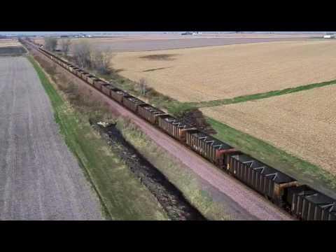 Westbound UPRR Coal Train 6903 AC4400CW 6460 GE-7FDL-16 AC4400CW ?