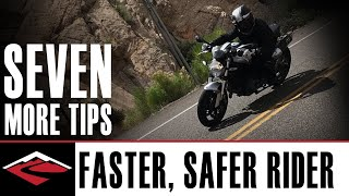 7️⃣ More Tips to Become a Better, Faster and Safer Motorcycle Rider 🏍