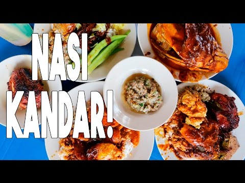 Best Malaysian Food in Penang, Malaysia | INSANELY Good Nasi Kandarwith Kyle Le