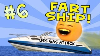 Annoying Orange - Ask Orange #6: Fart Ship!