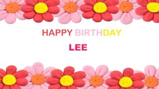 Lee   Birthday Postcards & Postales