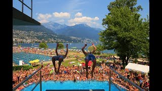 Lido Locarno - Summer 2014 | Extreme Diving tricks | GoPro