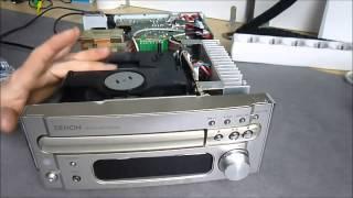 Repair project : Denon  RCD M33 compact stereo