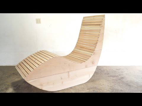 DIY Modern Outdoor Lounge Chair   Modern Builds   EP. 45