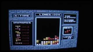 TETRIS NES PAL lvl 19 killer screen, 84 lines