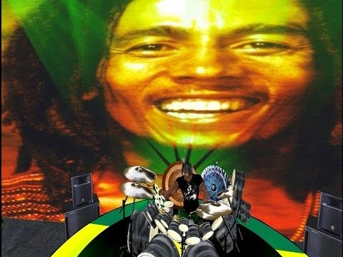 Bob Marley Tribute machinima secondlife - live concert 1978 - Babylon by bus