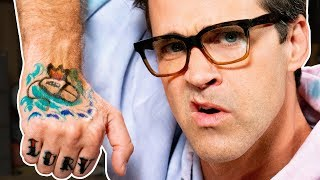 Link Gets A Hand Tattoo