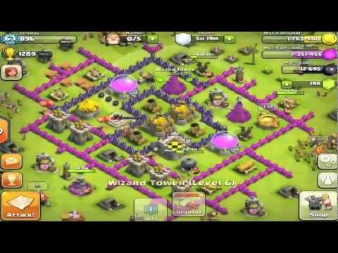 Clash of Clans - Town Hall Level 8 Farming Base