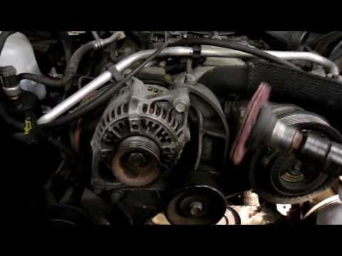 How To Replace The Water Pump On A 1996 Jeep Grand Cherokee 5.2 liter