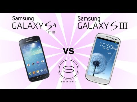 Samsung Galaxy S4 Mini vs Samsung Galaxy S3