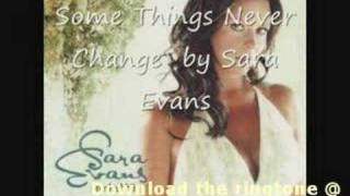 Watch Sara Evans Some Things Never Change video