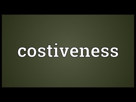 Header of costiveness