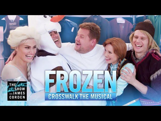 Crosswalk the Musical: Frozen ft. Kristen Bell, Idina Menzel, Josh Gad & Jonathan Groff thumbnail