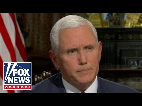 VP Mike Pence on US efforts to change Iran regime's behavior