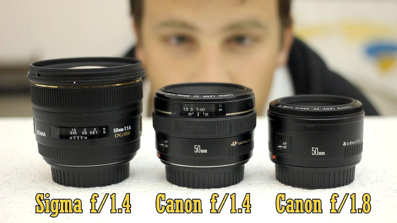 Lens 35mm vs 50mm 50mm Lens Battle Sigma F/1.4