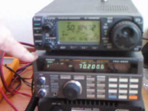 70MHz and 50MHz amateur radio station PE1ITR