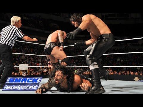 Chris Jericho & Roman Reigns vs. Randy Orton & Seth Rollins: SmackDown, September 12, 2014